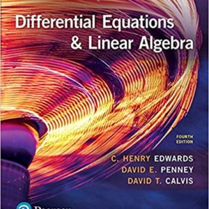 Differential Equations and Linear Algebra 4th Edition buy