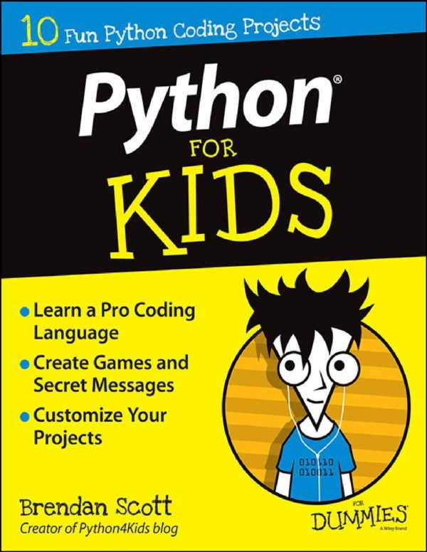 Python For Kids For Dummies buy