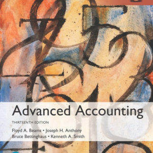 Advanced Accounting Global Edition 13 Edition