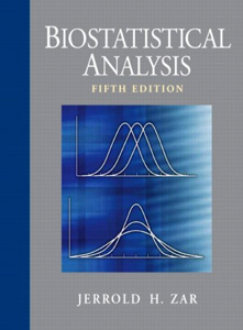 Biostatistical Analysis 5th Edition book by Jerrold H. Zar