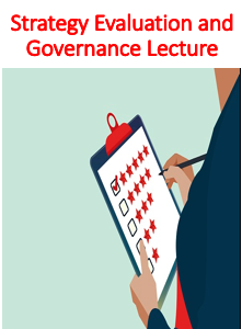 Strategy Evaluation and Governance Lecture