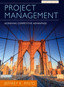 Project Management Achieving Competitive Advantage 4th Edition Book
