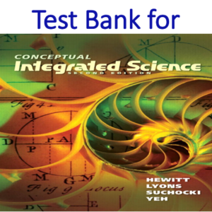 Buy Test Bank for Conceptual Integrated Science