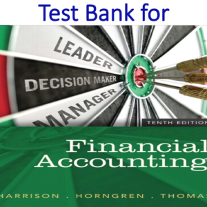 Test Bank for Financial Accounting 10th Edition