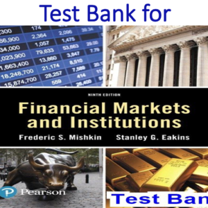 Test Bank for Financial Markets and Institutions 9th Edition